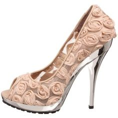 Betsey Johnson (at 5 inches, they are too high, but a cute idea).