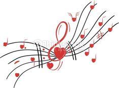 Clipart vectoriel : Musical notes