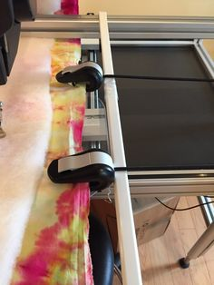 curtain rod to help clamps lift over extended base when quilting on bernina longarm Long Arm Quilting Machine, Machine Quilting Designs, Quilting Tools, Quilting Rulers, Longarm Quilting, Free Motion Quilting, Quilting Tutorials, Quilting Ideas, Quilt Kits