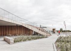 Vestre Fjord Park | Aalborg, Denmark | ADEPT #landscape #architecture #steps #bleachers #timber #amphitheatre