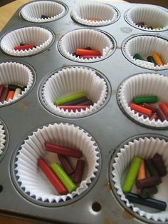 I think you could do these in any shaped pan. I see a lot of silicone pans used. Wouldn't star shaped be cute? hmmm.