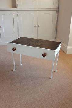 side table idea drawer