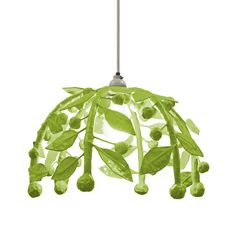 This pendant light is too cool! So whimsical, and comes in tons of colors!