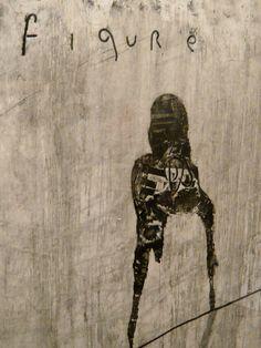 David Lynch - Untitled (monoprint)