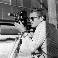 James Dean by Sid Avery. © #Vintage