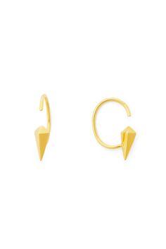DVF Delicate Spike Hoop Earring