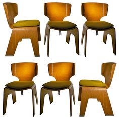 Kenzo Tange, Chair Circa 1957 | From a unique collection of antique and modern chairs at http://www.1stdibs.com/furniture/seating/chairs/