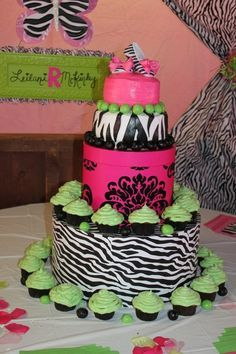 zebra print baby shower - Google Search