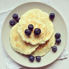 protein pancakes stuffed lemon blueberry pecan