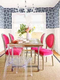 Mix and match your dining set for a less formal, but still contemporary look // #hgtvmagazine http://www.hgtv.com/design/decorating/design-101/tips-and-a-tour-from-expert-renovators-pictures?soc=pinterest
