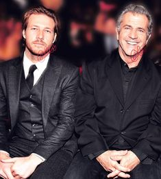 "🅷🅰🆁🅻🅸  🐺♏🍀✨🌕🌌🌟🛸👽🍁 on Instagram: ""#stylish #saturday goest fo these 2 #handsome #fellas 🤩🤩 #mycharmingaussie #lukebracey #melgibson #celebritystyle"" Luke Bracey, Mel Gibson, Celebrity Style, Handsome, Stylish, Fictional Characters, Instagram, Sexy, People"