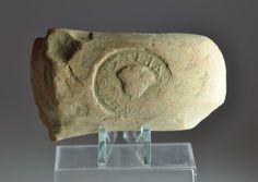 Greek inscription, Greek amphora handle seal, 3rd century B.C. Private collection