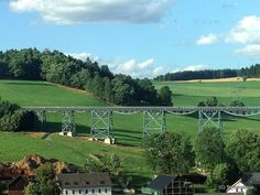 Markersbacher Viadukt bei Markersbach, Deutschland, Sachsen
