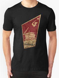 """CCCP Lunokhod 1"" T-Shirts & Hoodies by Lidra | Redbubble"