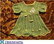 Green Dress free crochet graph pattern