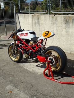 "DUCATI MONSTER ST2 ""9 1/2"" by RADICAL DUCATI"