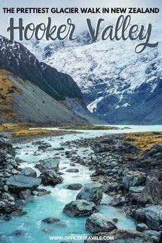 New Zealand Destinations, New Zealand Itinerary, New Zealand Travel Guide, North Island New Zealand, Glacier Lake, Mount Cook, Bay Of Islands, Adventure Bucket List, Island Nations