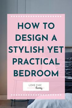 How to design a beautiful yet practical bedroom. Add clever storage, great lighting, blinds and curtains to give a cool bedroom makeover, perfect bedroom decor and on trend bedroom interiors. Ideal for a master bedroom, teen bedroom or guest bedroom #lovechicliving #bedroom #bedroomdesign Guest Bedroom Decor, Teen Bedroom, Master Bedroom, Bedroom Curtains, Awesome Bedrooms, Beautiful Bedrooms, Blinds Design, Have A Good Night, Bedroom Interiors