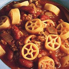 WAGON WHEEL BEEF SOUP FOR KIDS Recipe | Just A Pinch Recipes