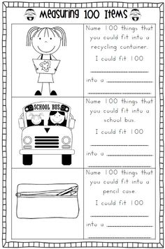 math worksheet : 100 days of school printables  activities for the 100th day of  : 100 Days Of School Math Worksheets