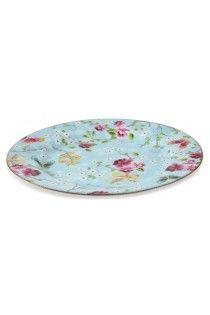 PiP Studio Chinese Rose Blue 32cm Plate