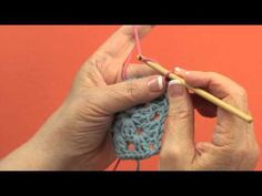 ▶ Join A New Color With A Slip Stitch - YouTube