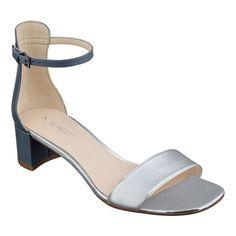 Haglyn ankle strap heels