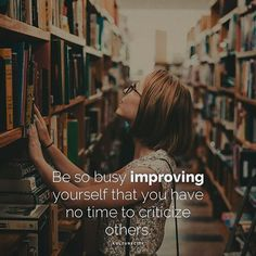 You should be so busy improving yourself that you don't have time to criticize other people. Keep working hard, leave the criticizing to other people, and you will get ahead! Exam Motivation, Study Motivation Quotes, School Motivation, Motivation Inspiration, Motivation Youtube, Motivation For Studying, Study Hard Quotes, No Ordinary Girl, Quotes About Strength In Hard Times