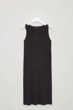 COS | Dress with overlapping keyhole back