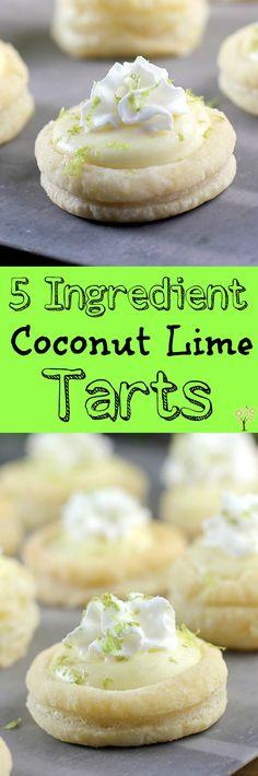 5 Ingredient Coconut Lime Tarts http://wp.me/p4qC4h-3EB #SpringReddi #ad @walmart