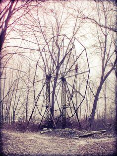 Abandoned Ferris Wheel; Chippewa Park.