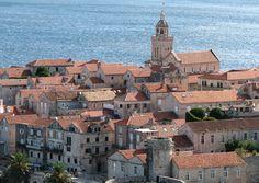 Korcula village ; Croatia