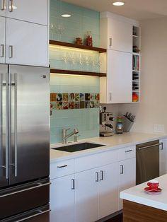 90 Projetos com Diferentes Revestimentos para Cozinhas
