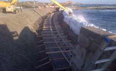 Ocean Drive #Seawall #Repair. @universalengg