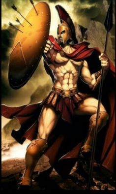 Ares, god of war, son of Hera and Zeus.