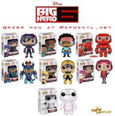 I WANT TO BUY HIRO AND THE TWO BAYMAXS!!