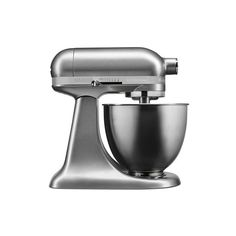 Williams-Sonoma KitchenAid(R) Artisan Mini Stand Mixer ($330) ❤ liked on Polyvore featuring home, kitchen & dining, small appliances, kitchen aid small appliances, kitchen aid mixers, kitchenaid stand mixer, kitchenaid tilt head stand mixer and kitchenaid standmixer