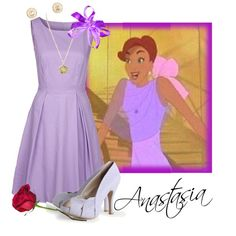 """Anastasia's Shopping Dress"" by nightwatchman54 on Polyvore"