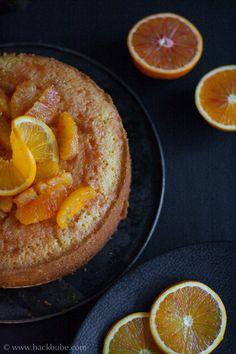 Grießkuchen mit Aperol-Orangen - (M)ein neuer Lieblingskuchen aus der neuen LECKER Bakery.