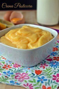 Crema pasticcera ricetta classica dolce cucchiaio farcie bambini Statusmamma Giallozafferano blog blogGz tutorial foto cucinare