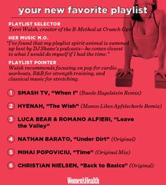 A Club-Inspired Playlist for Your Next Workout