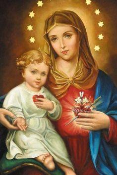 """""""O Filho atenderá Sua Mãe e o eterno Pai ouvirá Seu próprio Filho: eis o fundamento de toda nossa esperança"""". (São Pedro Canísio)"""