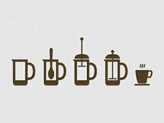 Dribbble Coffee Icon System by Matthias J.G in Coffee Coffee Icon, Coffee Logo, Coffee Art, Iced Coffee, Icon Design, Logo Design, Graphic Design, Cocoa, Flat Illustration