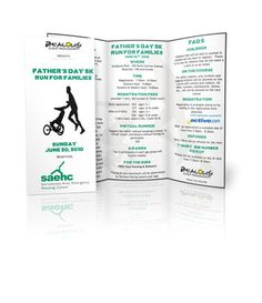 Father Day 5k Run For Families Non Profit Brochure