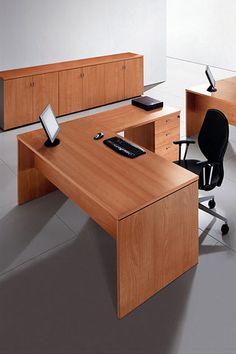 Portico -- Características: Escritorio en L operativo de melamina. Infórmate más sobre este mueble dándole clic a la imagen.