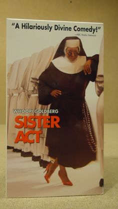 Touchstone Sister Act VHS Movie * Plastic * -- Used
