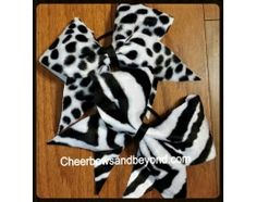 Fur Bows Zebra or Dalmation Hair Bows *And key Chain Option*To order go to cheerbowsandbeyond.com. Follow us on Instagram at cheerbowsandbeyond and facebook at cheerbowsand Beyond.