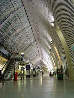 the brand new Avignon TGV station, where the high speed  trains take you where you want to be in  record-breaking and breathtaking speed... Paris  in 2.5 hours!