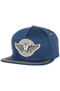 895e64148a3 The Airways Snapback in Blue by Benny Gold Gold Hats