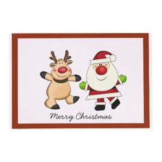 Shop Santa Placemat created by Iggys_World. Santa And Reindeer, Placemat, Winnie The Pooh, Disney Characters, Fictional Characters, Christmas, Art, Yule, Xmas